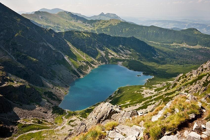 Czarny Staw Zakopane Tatra Mountains