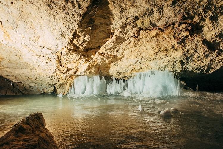 Dachstein Ice Caves near Hallstatt Austria