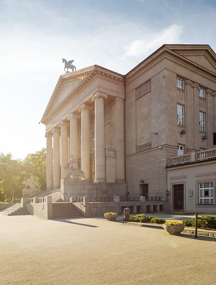Grand Theatre of Moniuszko in Poznan Poland