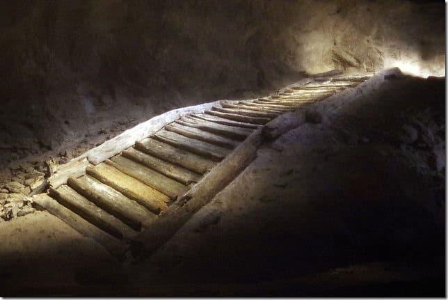 Hallstatt Salt Mine Staricase