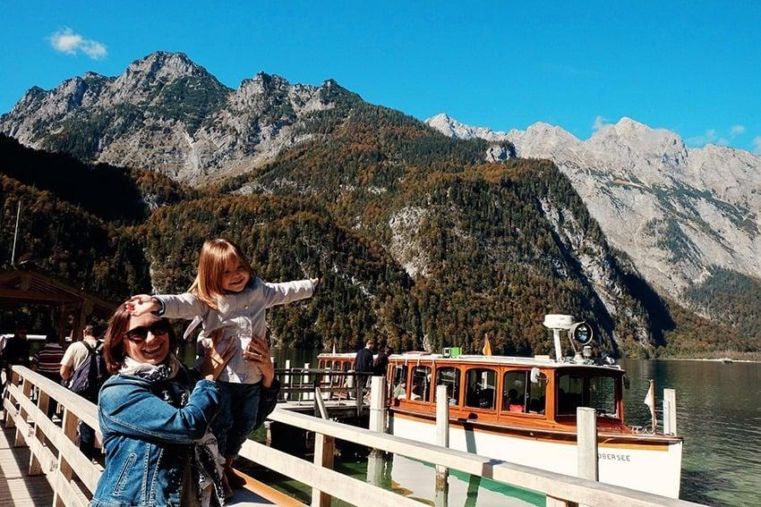Königsee Lake Berchtesgaden Germany
