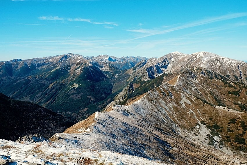 Kasprowy Wierch Cable Cars to top of Tatry Mountains