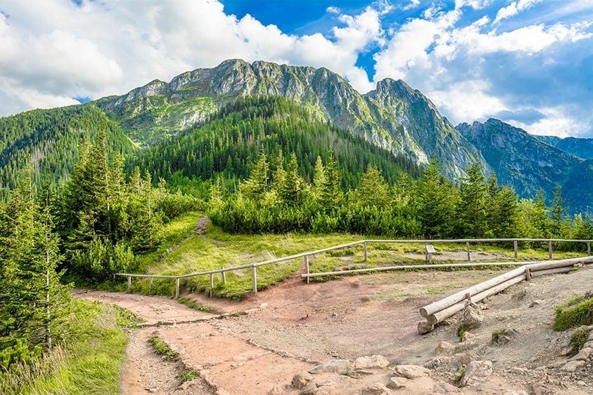 Mt. Giewont Zakopane Poland