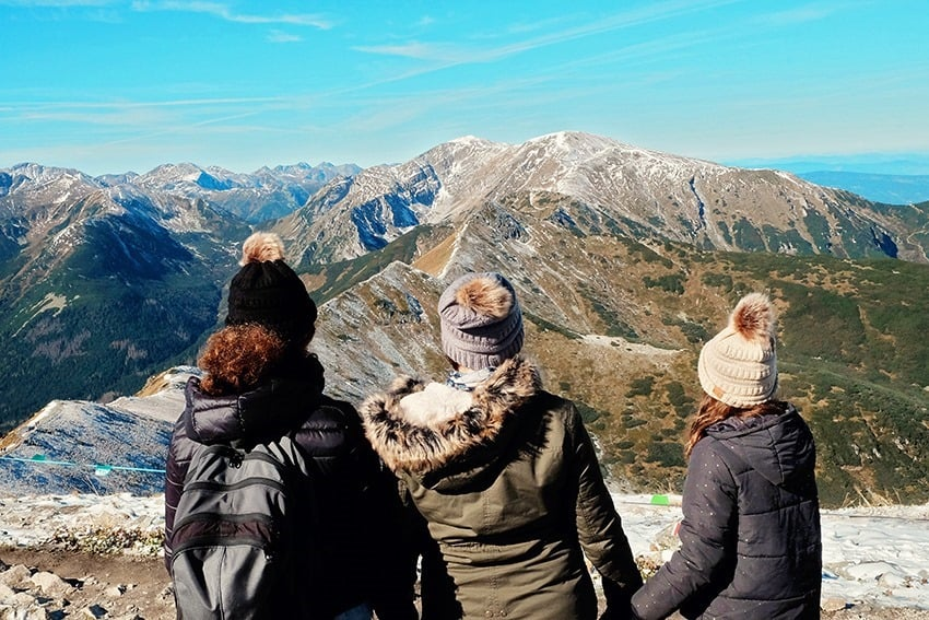 Mt. Kasprowy Wierch Tatra Mountains