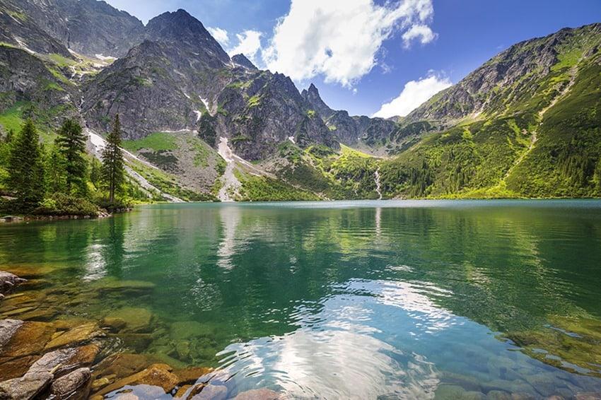 Tatra mountains and Morskie Oko in Poland