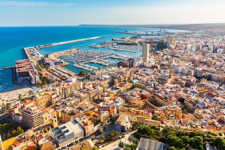 Alicante Spain, Spanish Coastal Cities