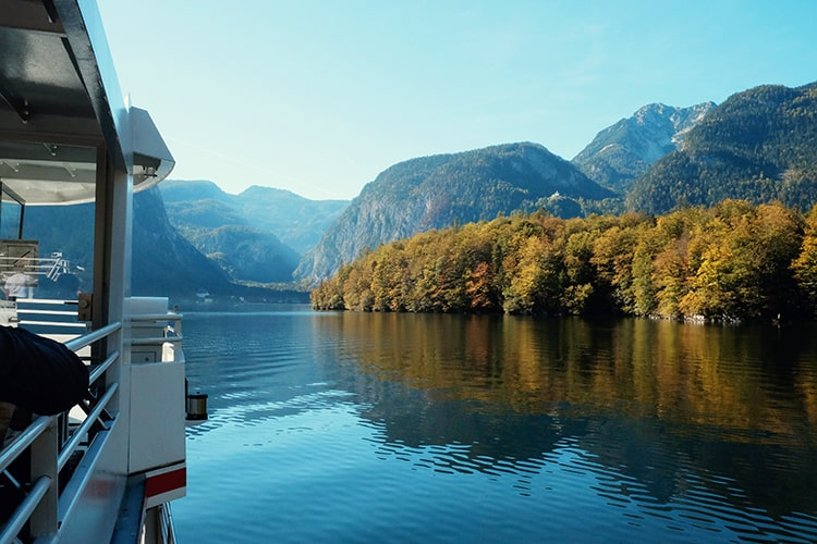 Boat Ride on Hallstatt Lake