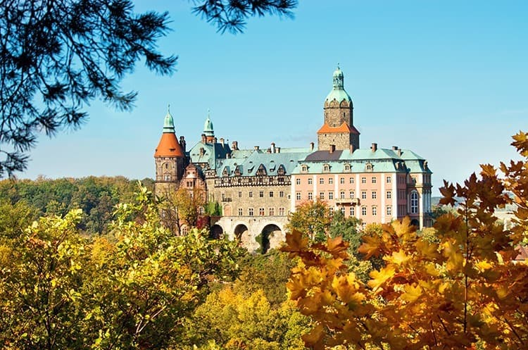 Day trip to Ksiaz Castle in Poland