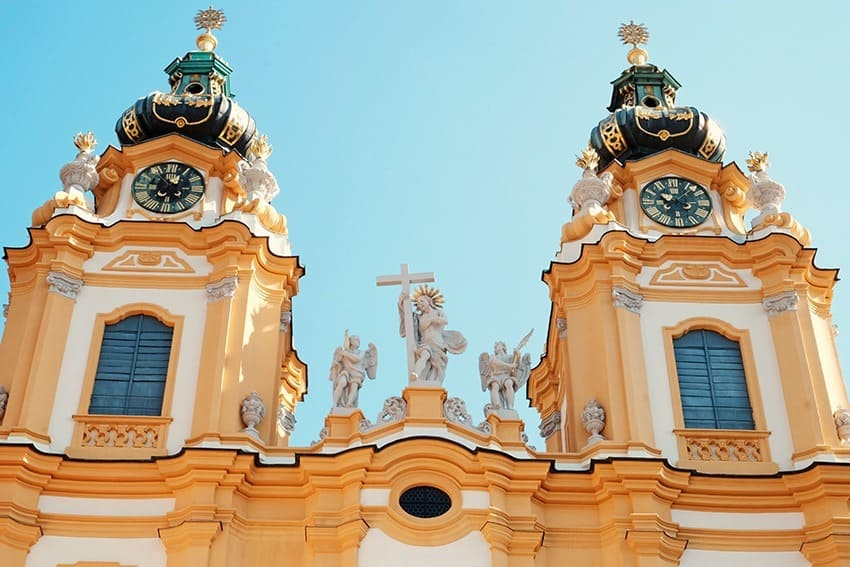 Day trip to Melk Abbey in Austria