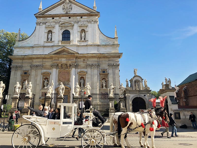 Fun things to do in Krakow - Horse and Carriage Ride