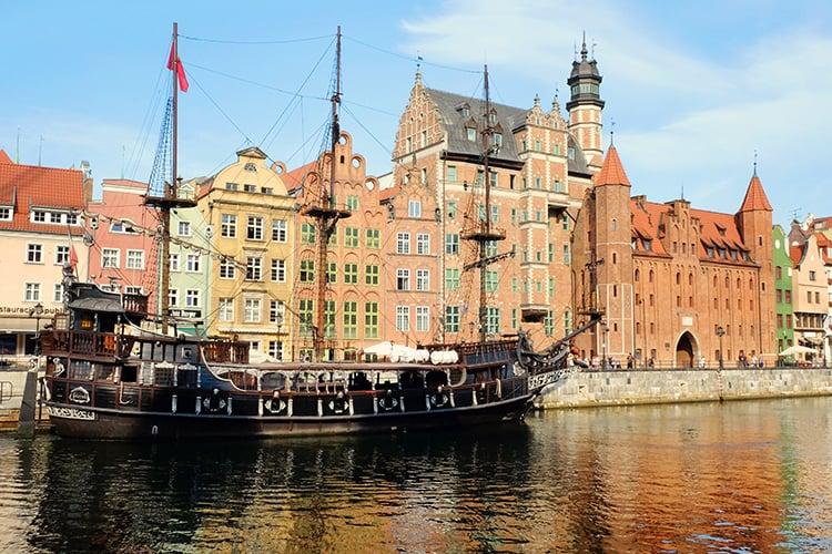 Gdansk Embankment Poland
