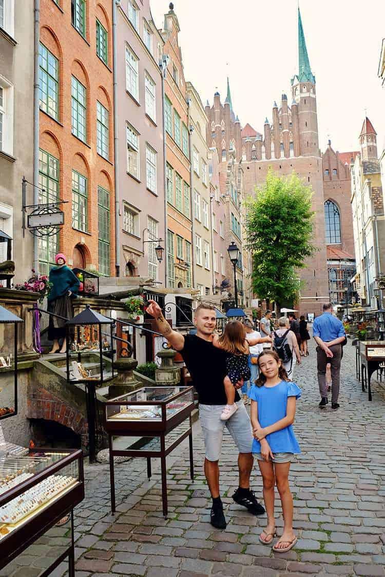 Gdansk Mariacka Street