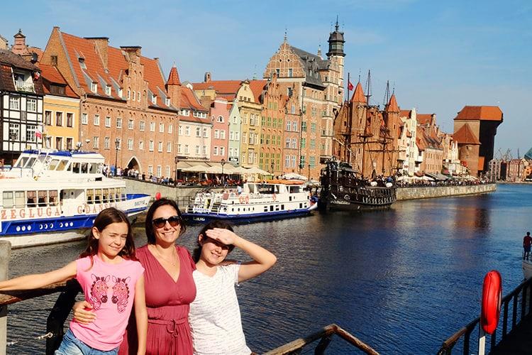 Gdansk port Poland