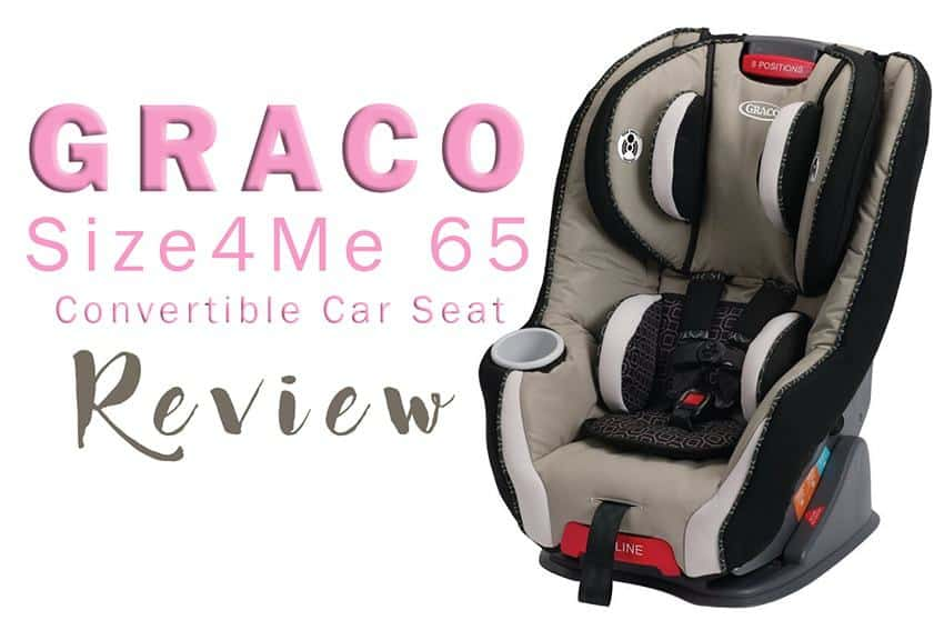 Graco Convertible Graco Size4Me 65 Convertible Car Seat Pierce Review