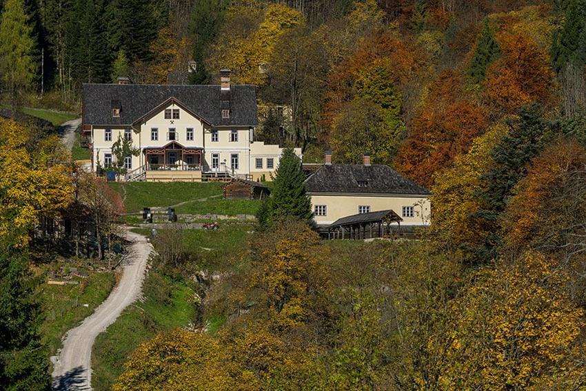 Hallstatt Salt Mine in Salzkammergut Austria