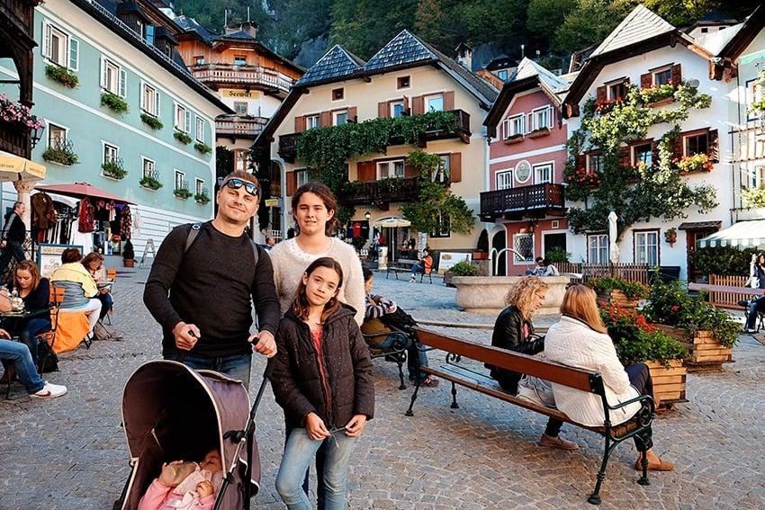Hallstatt from Salzburg