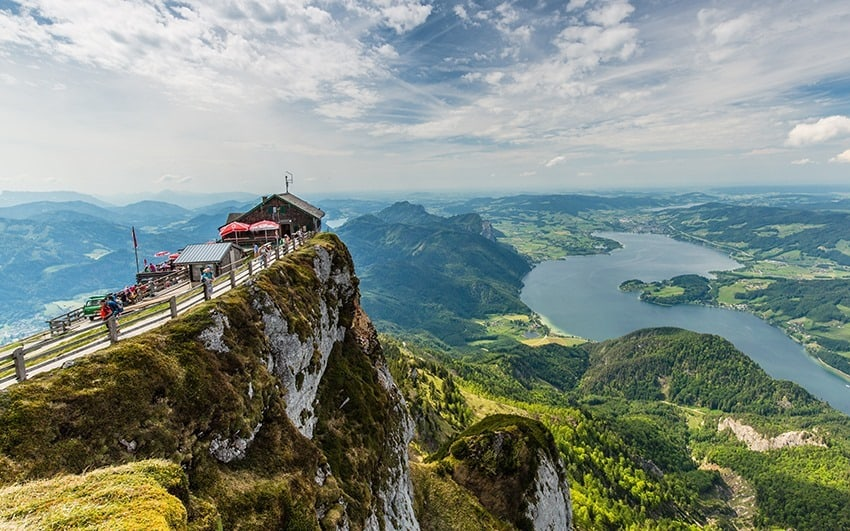 Schafberg Mountain Cog Train Austria