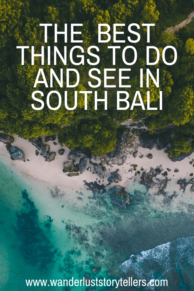 What to do in South Bali