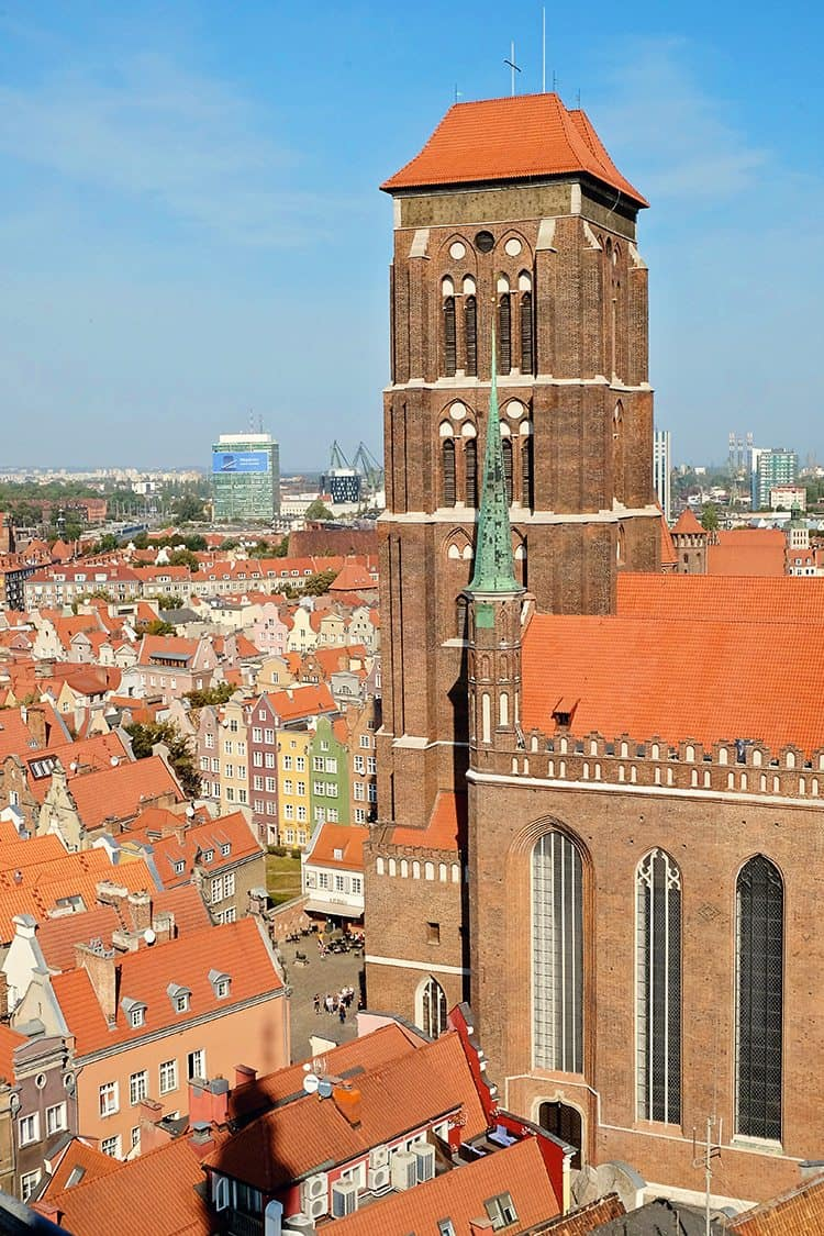 What to do in Gdansk Poland - St Mary's Basilica