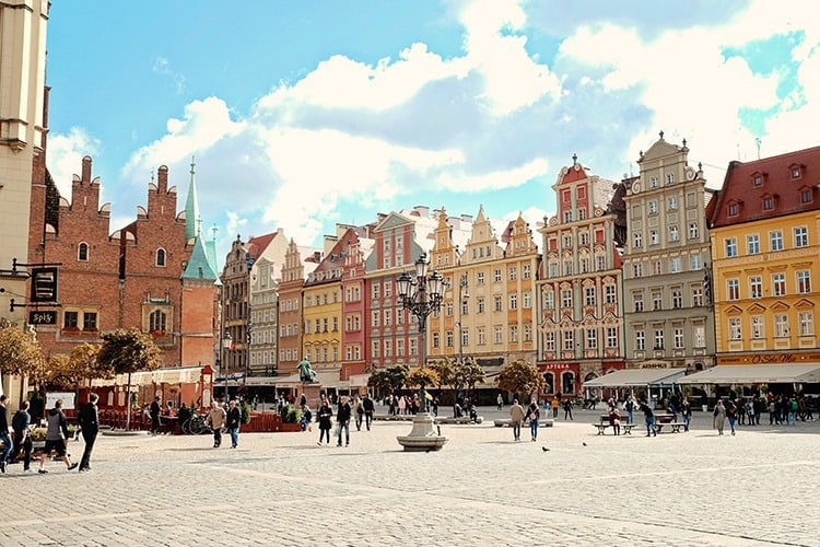 Wroclaw Old Market Square
