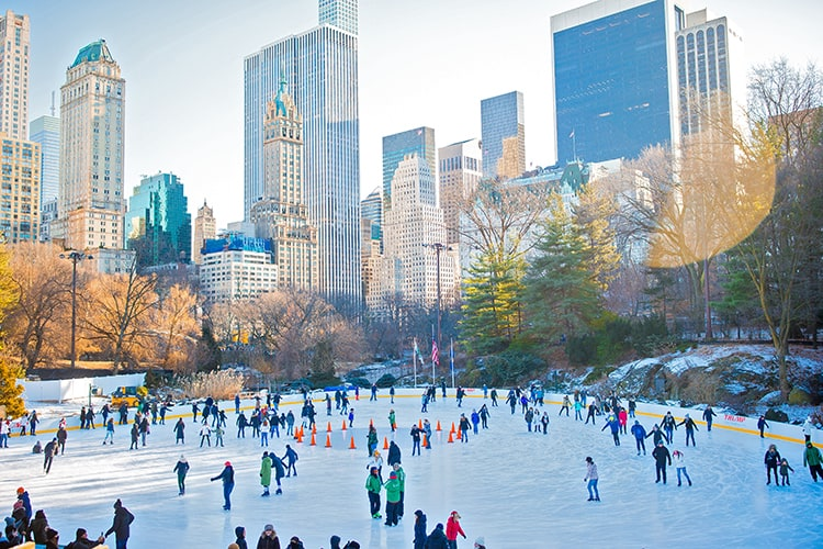 best christmas beach vacations for families to New York City