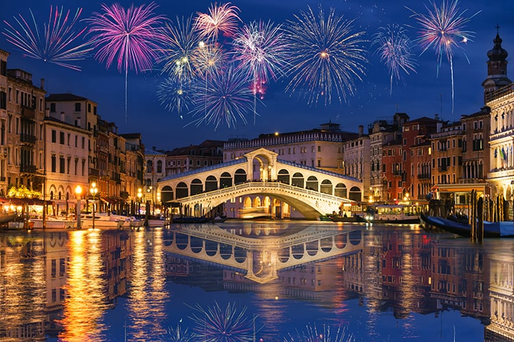 best family holiday destinations in december in Venice, Italy