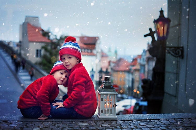 European cities to visit in winter with kids