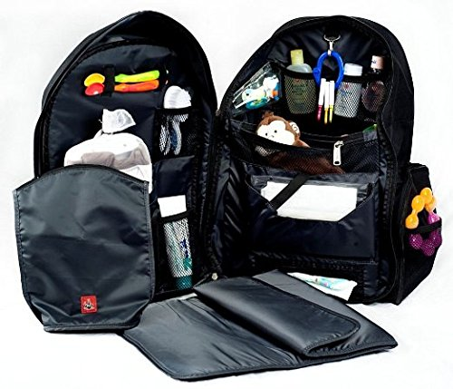 For The Baby You Will Have Access To A Wipes Compartments Pacifier Pouch Pocket Dirty Clothes Stroller Straps And Change Pad