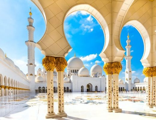 Checking out Abu Dhabi with kids