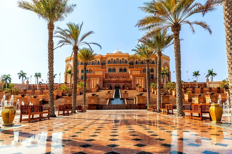 Emirates Palace with Kids