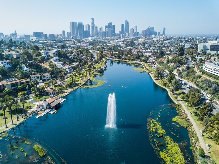 Los Angeles Echo Park with Kids