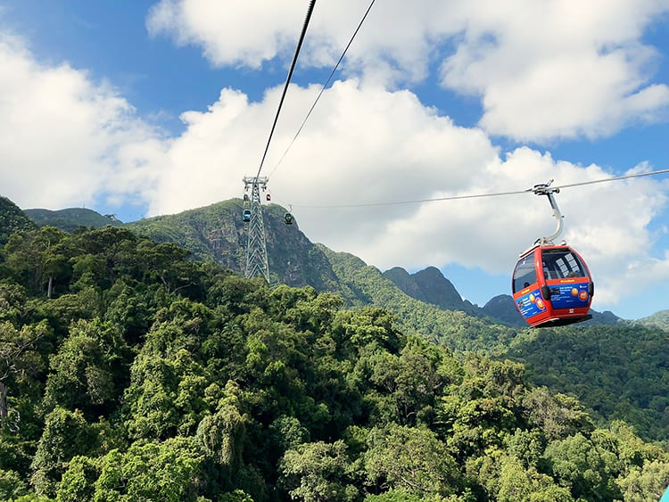 attractions in Langkawi, Sky Cab and Sky Bridge