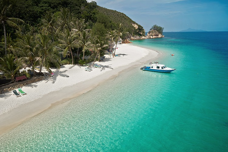 Rawa island. Malaysia