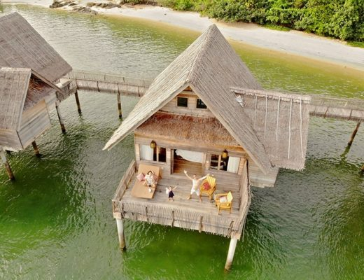Telunas Private Island Resort Review