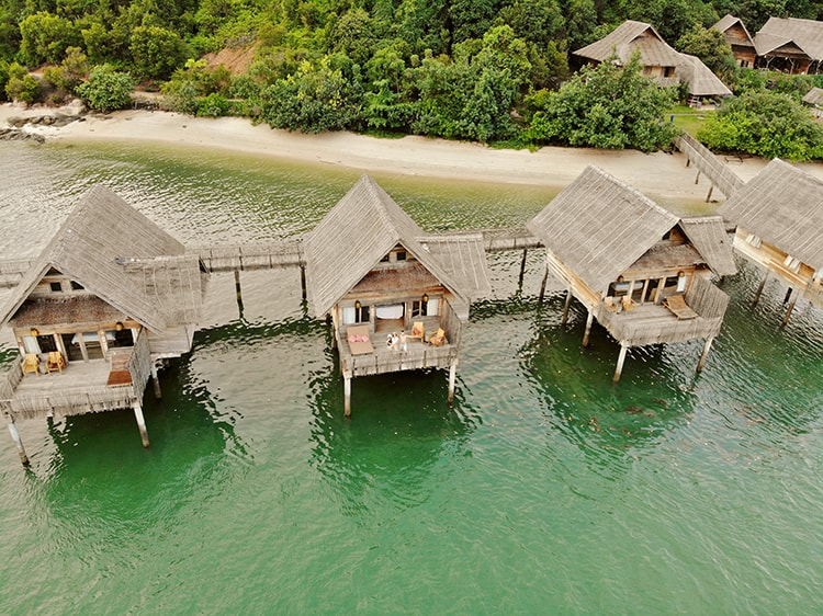 Telunas Resorts in Indonesia