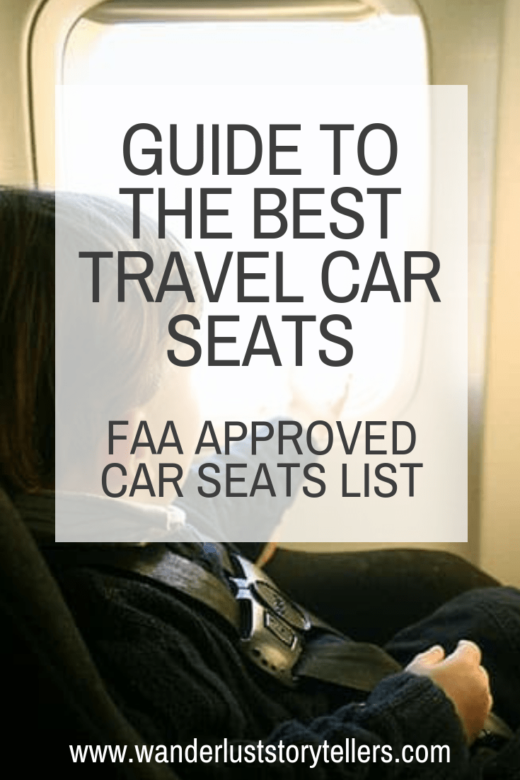 Here is your ultimate guide to help you find the best travel car seat for your next vacation. We also share some great FAA approved car seats for your next flight. #CarSeats #TravelwithBaby #KidsTravelGear