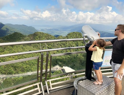 places to visit in Langkawi, Skyway