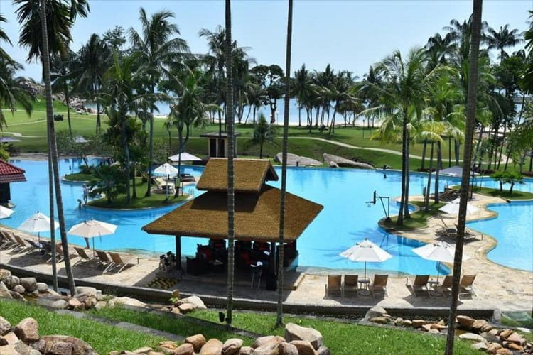 Bintan Lagoon Resort Pool View