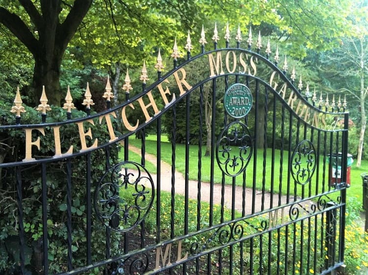 Fletcher Moss Park Manchester - Places to see in Manchester