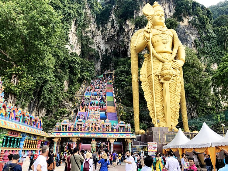 Kuala Lumpur day tours to Batu Caves