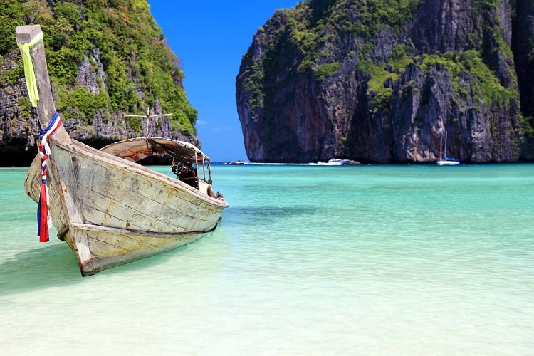 Beautiful Maya Bay, Phi Phi Islands, Thailand