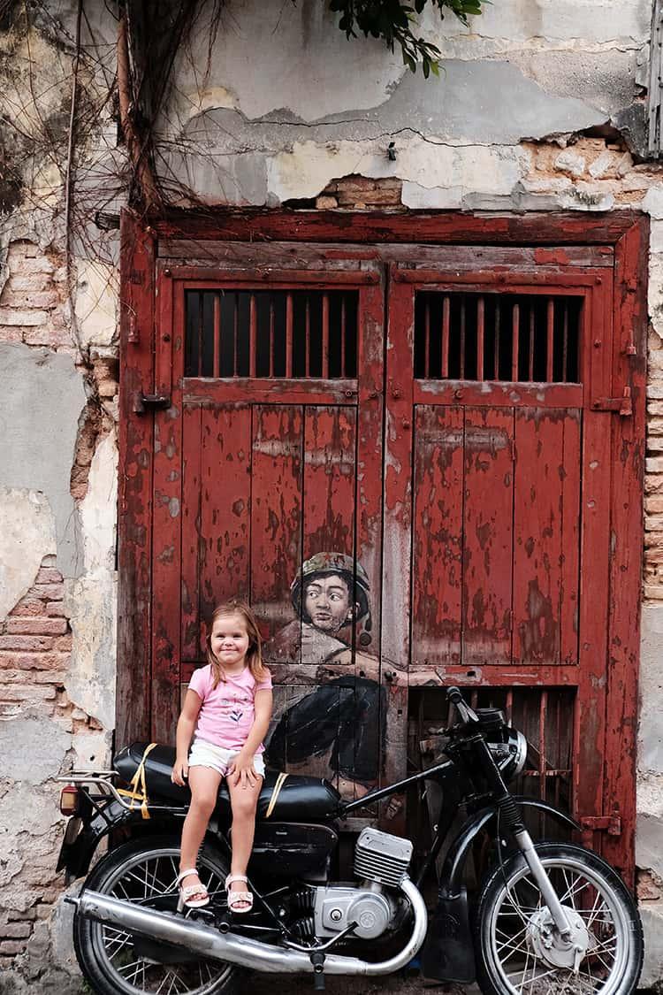 Art in Georgetown Malaysia