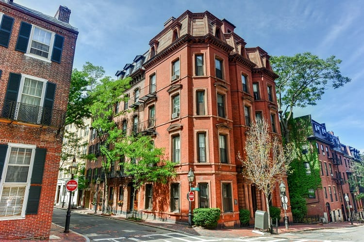 Beacon Hill Neighborhood - Boston