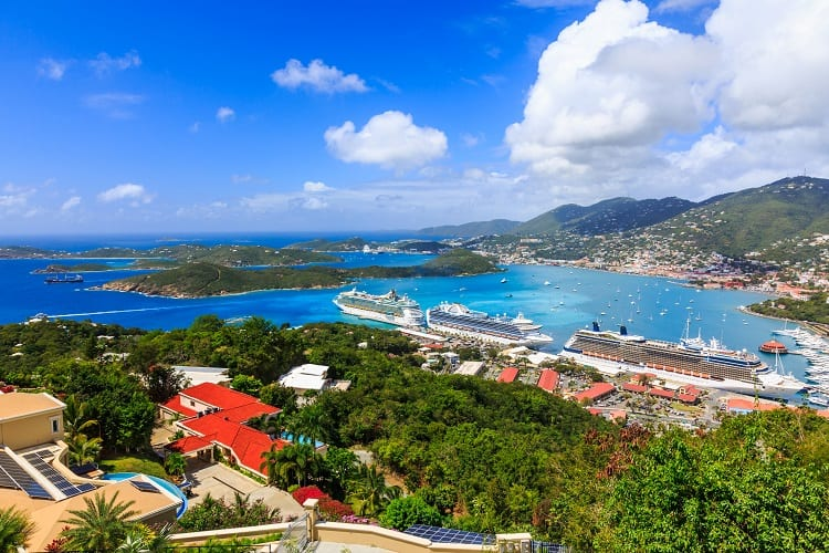 Caribbean Cruises - US Virgin Islands