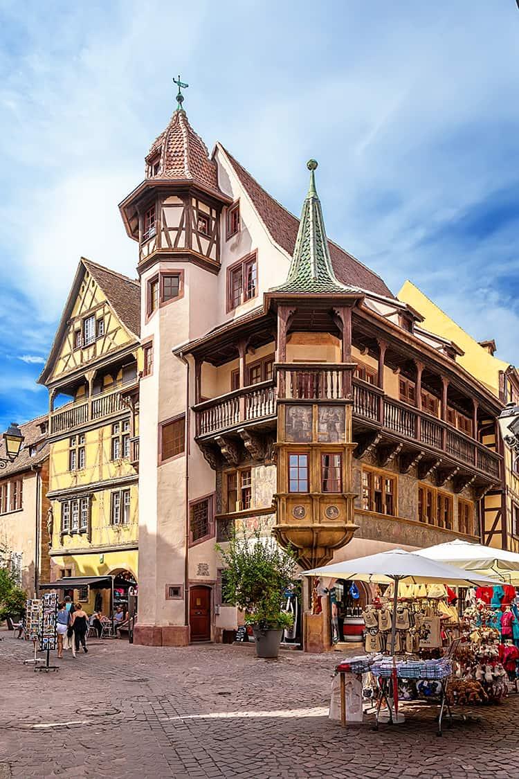 Colmar, France. Maison Pfister, 1537