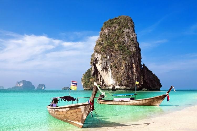 Krabi - Railay Beach - How to get from Krabi to Koh Lanta