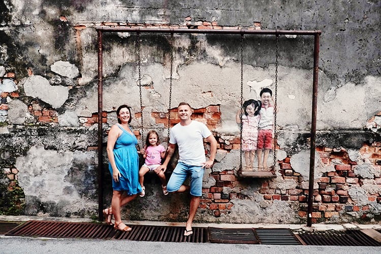 Our Itinerary on the Best Things to do in Penang in 3 Days