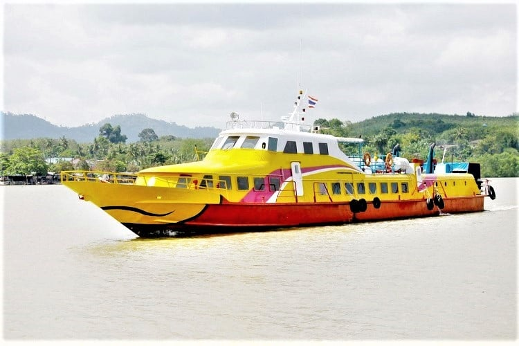 Tigerline Ferry from Krabi to Koh Lanta