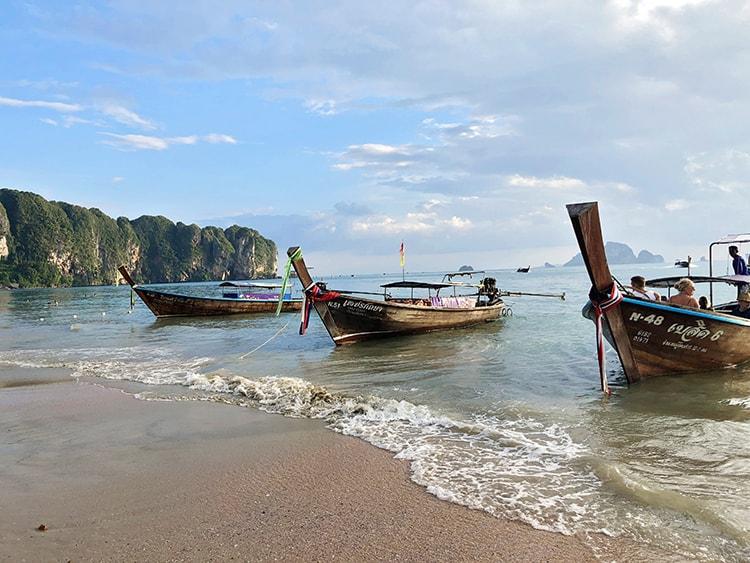 Aonang krabi beach thailand