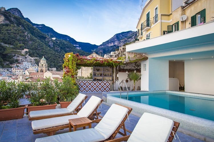 Best Amalfi Town Hotels - Hotel Marina Riviera - View